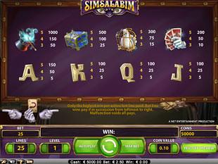 free Simsalabim slot payout