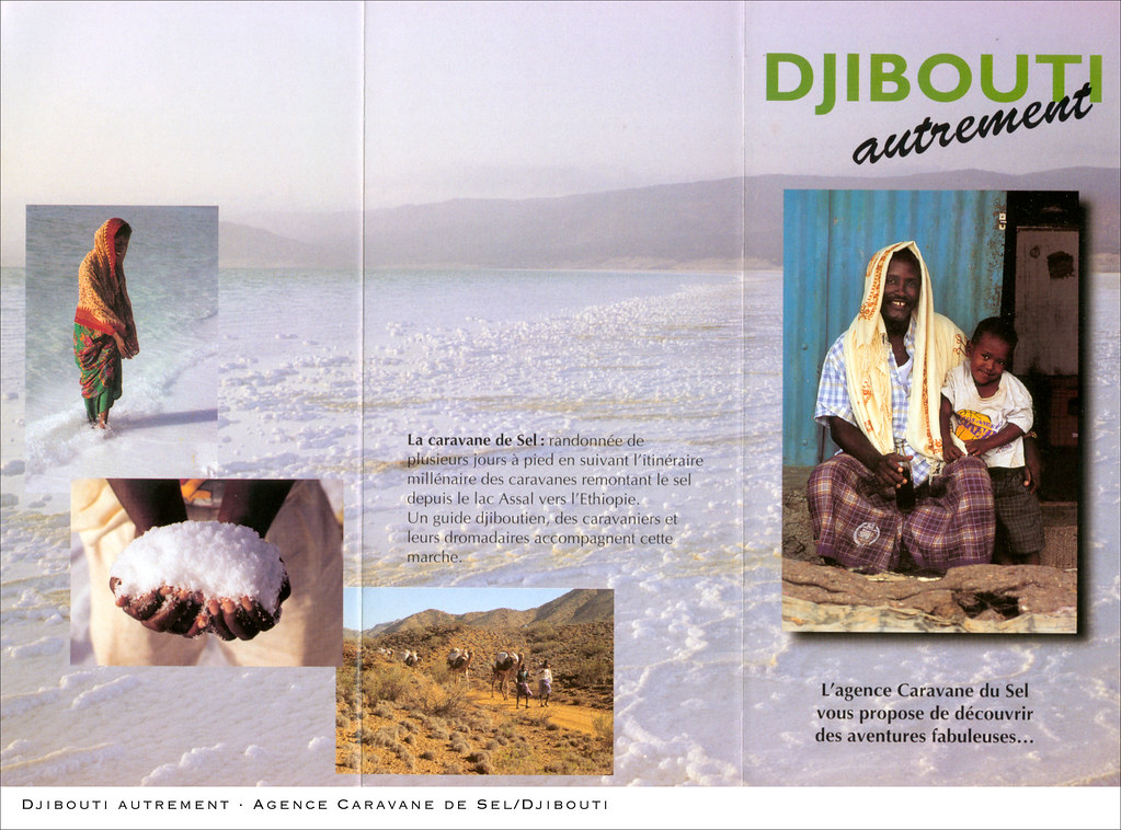 """Travel photography for the Tourism office of Djibouti and the """"Caravane de Sel"""" travel agency"""