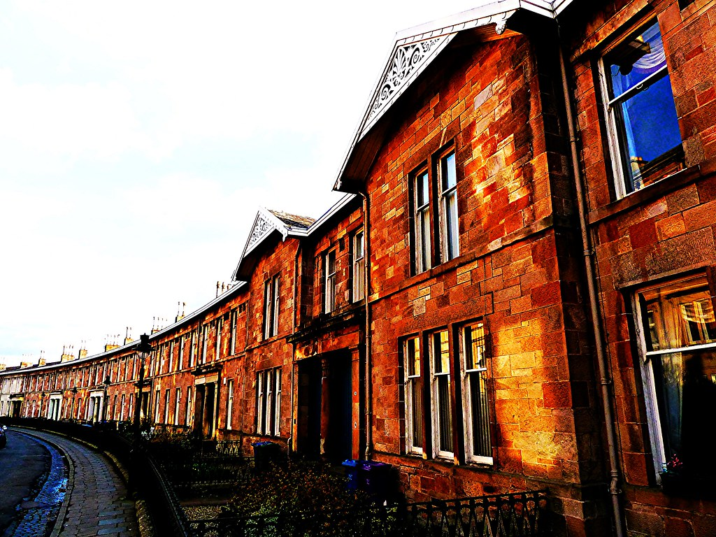 Millbrae Crescent, Glasgow, Scotland
