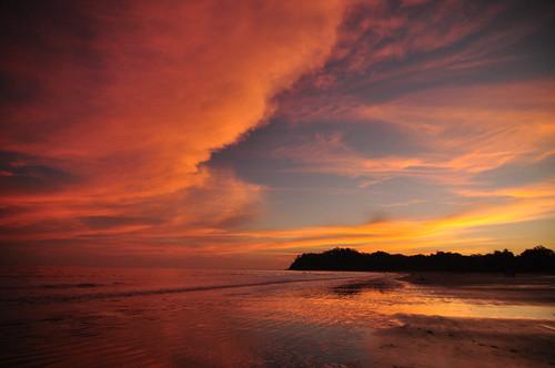 sunset nikon costarica d90 playasamara