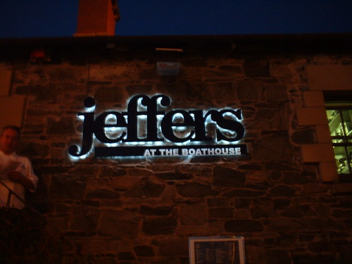 PLASTIC LETTERS WITH HALO LED ILLUMINATION AT JEFFERS