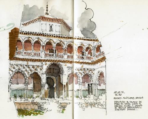 Sevilla, Reales Alcázares