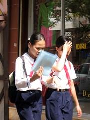 Hanoi school kids