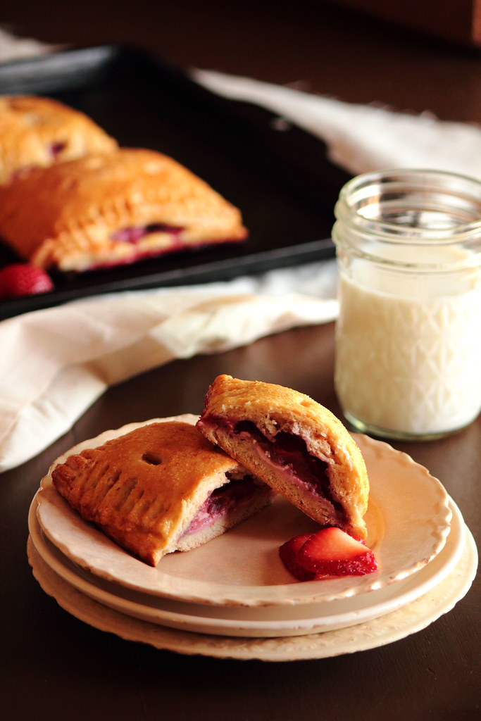 Strawberry Cream Cheese Pop Tarts