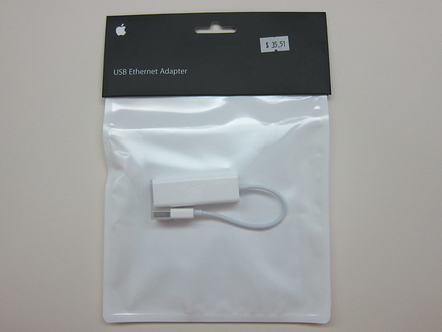 Apple USB Ethernet Adapter - Packaging Front View