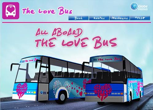 globe LOVE BUS