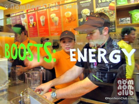 Jamba Juice Boosters