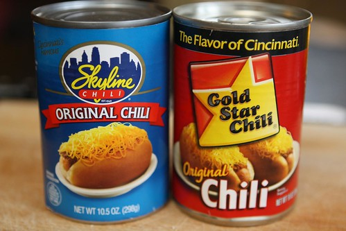 Skyline Chili and Gold Star Chili