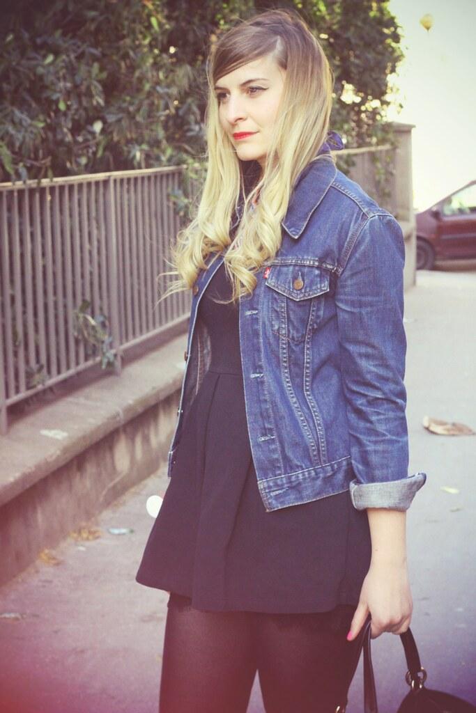 Mode Robe Jean Blog amp; Zoé Bassetto Petite Veste Noire La En ApBfW7vqxw