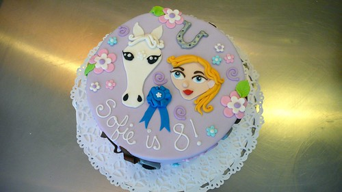 Horse Themed Cake by CAKE Amsterdam - Cakes by ZOBOT