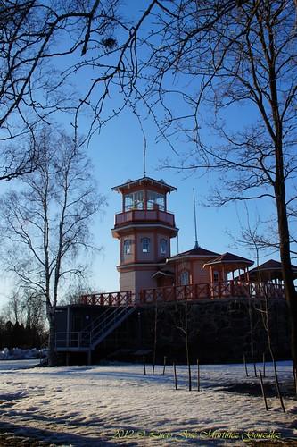 wood winter sea castle suomi finland de geotagged captains mar madera observatory invierno oulu scandinavia castillo finlandia observatorio escandinavia capitanes luciojosemartinezgonzalez northernostrobothnia geo:lat=650169762222222 geo:lon=254689041111111