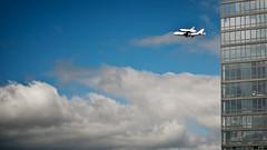 OV101 - Shuttle Enterprise over New York