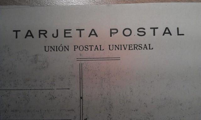 Libreto de postales (III), ????