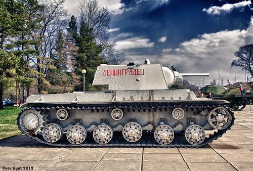 Soviet Heavy Tank KV-1. 1942