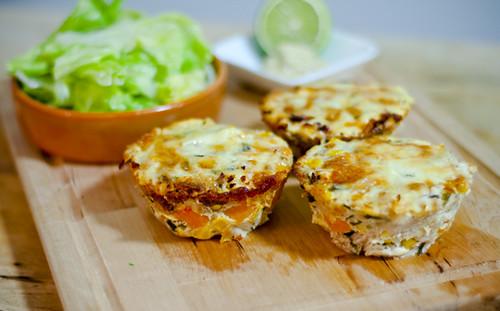 Tuna, Sweet Potato and Corn Frittata