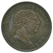 1815 Ceylon Rix dollar pattern obverse