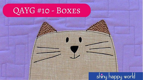 Quilt As You Go #10 - Interlocking Boxes