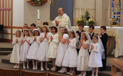 Ellie First Communion Group