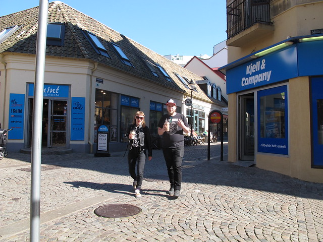 saturday, lunch + ice cream out, helsingborg