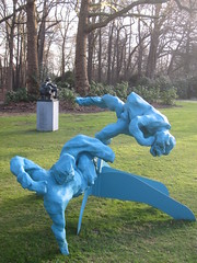 Peter Rogiers – Two reclyning figures on a calder base - 2006