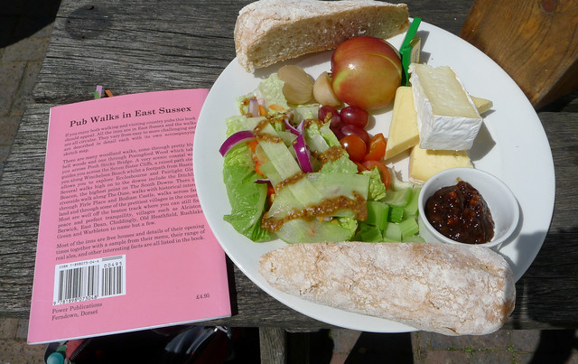 ENG2016 - Ploughman's Lunch in the Tiger Inn in East Dean
