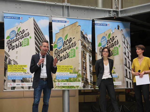 """Lancement du programme """"Eco-Rénovons Paris"""" [12 mai 2016]"""