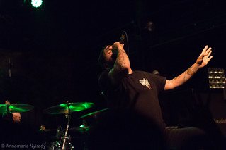 After the Burial - Canal Club - 5/21/16