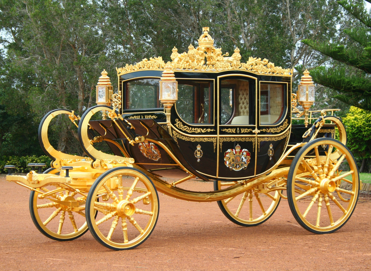 The Diamond Jubilee State Coach. Credit Grahamedown