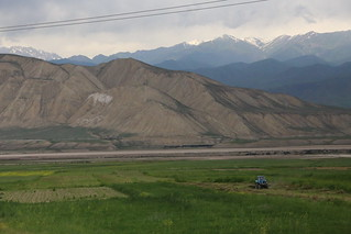 The drive Osh to Bishkek