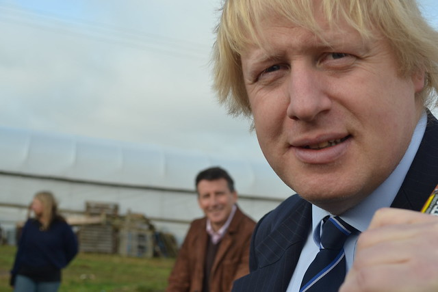 Boris Johnson and Lord Coe