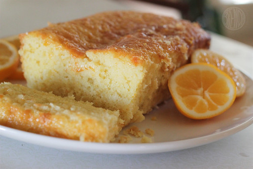 freshly baked lemon loaf
