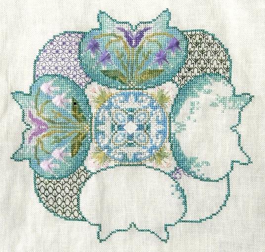 Spring Knotgarden (Châtelaine Designs)