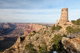The Watchtower at Desert View, Grand Canyon