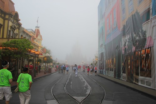 Foggy Main Street - One More Disney Day