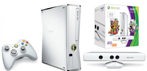 Microsoft Announces White Xbox 360 Bundle