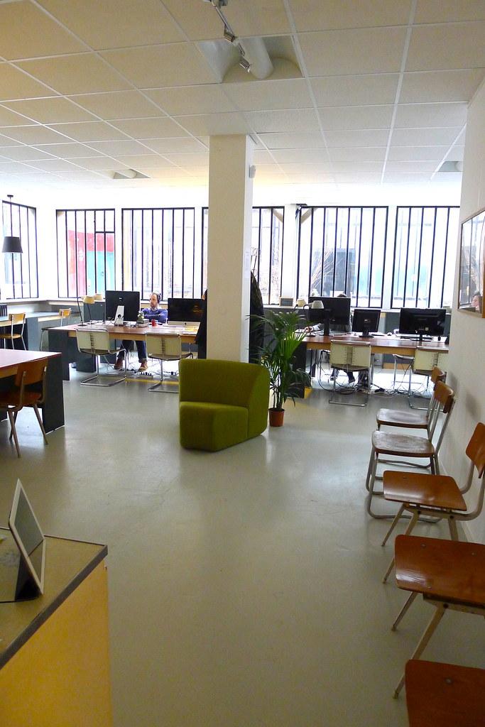Espace de coworking pour créatifs