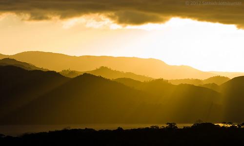 sunset silhouette costarica nationalparks arenal centralamerica alajuela lagoarenal sonydslra700 parquenacionalarenal sony70300mmf4556g