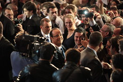 Meeting de François Hollande à Lyon