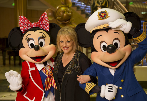 Nancy Grace, Mickey, and Minnie Mouse
