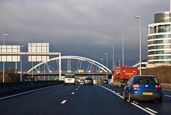 Sur l'A6 au Luxembourg