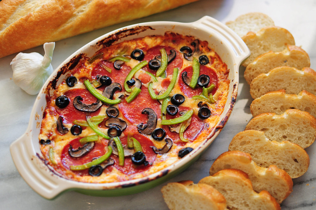pizza as a dip, what a great idea!
