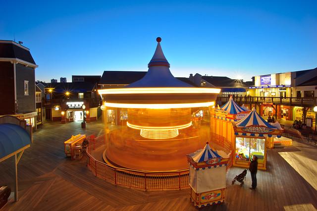 Pier 39's Carousel
