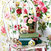 Floral Wallpaper and a vintage recycled chair