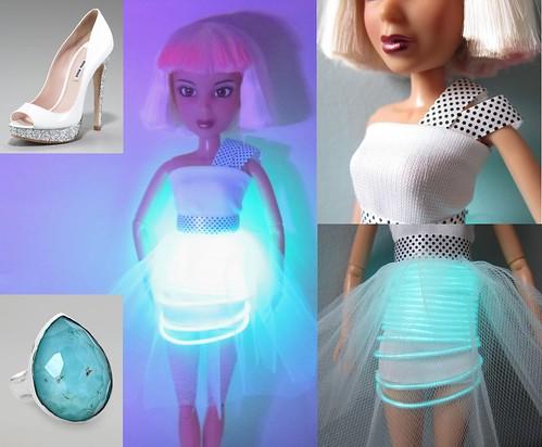PPR Challenge #9 - When I Get My Dress In Lights