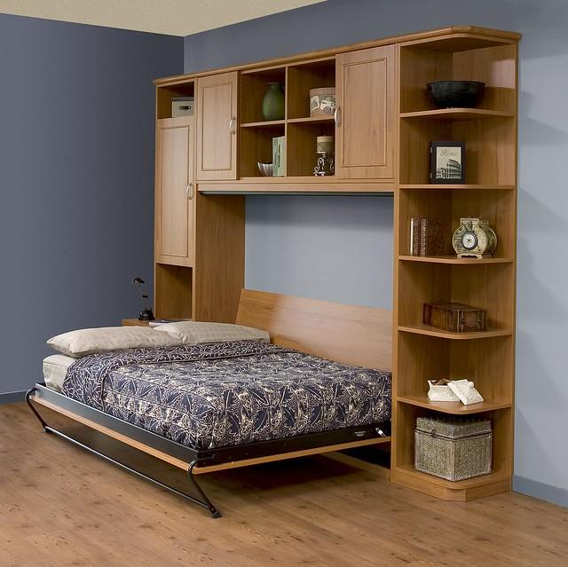 Side-Tilt Queen Murphy Bed -- Open | Flickr - Photo Sharing!