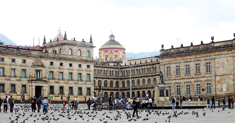 Bol 237 Var Square In Bogot 225 Colombia