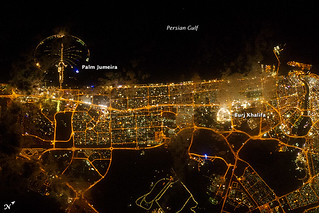 City Lights of Dubai, United Arab Emirates