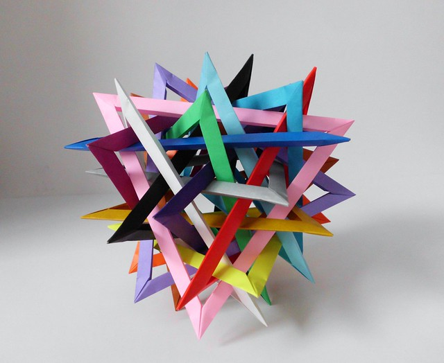 Sixteen Interlocking Triangles (Byriah Loper)