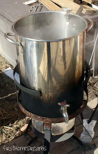 turkey deep fryer for boiling maple syrup