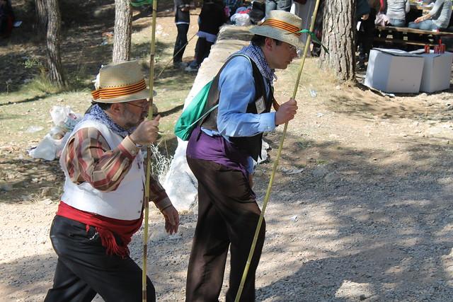 subiendo romería la ermita de la magdalena